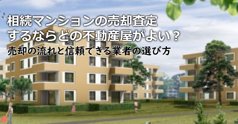 鴨川市で相続マンションの売却査定するならどの不動産屋がよい?3つの信頼できる業者の選び方や注意点など